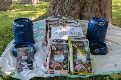 Aniland Collombey-Muraz, Sponsoring de croquettes pour chiens