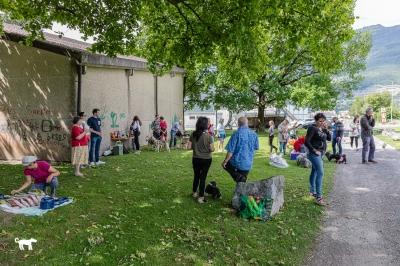 Manifestation canine à Monthey - 13 juin 2020 - Apéro