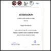 Attestation - Formation Premiers Secours pour Chiens, Union Canine Suisse
