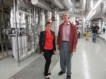Visite de l'installation couplage chaleur-force à Triesen