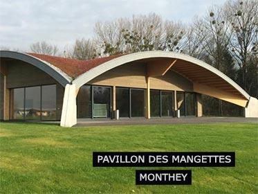 Pavillon des Mangettes à Monthey