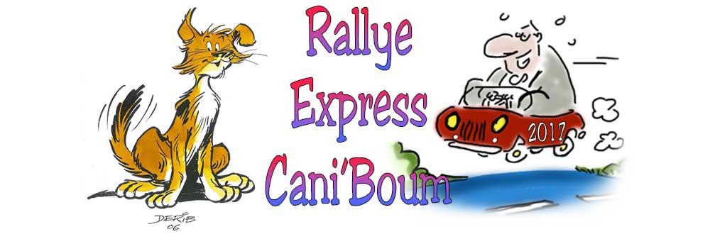 Rallye Caniboum 2017 - Rallye Express Cani'Boum 2017