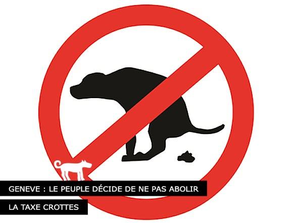 Votation Crottes de chiens à Genève