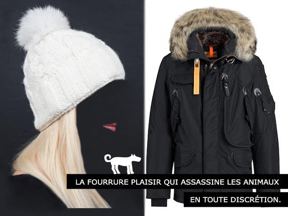 Fourrures importées - Assassins d'animaux